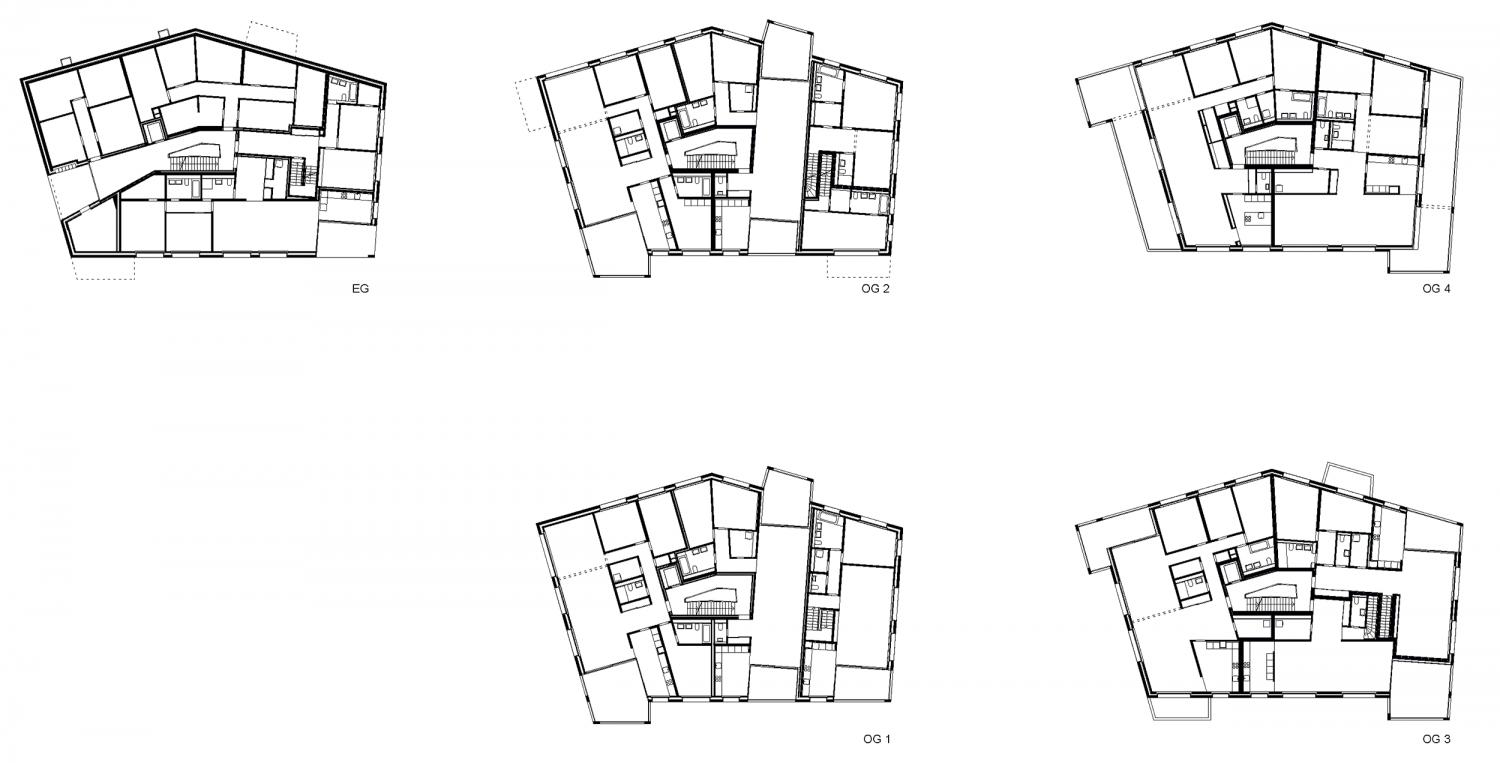 Haus C – Grundrisse