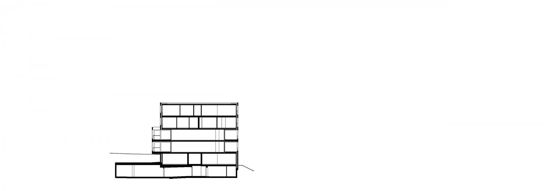 Haus B – Schnitt