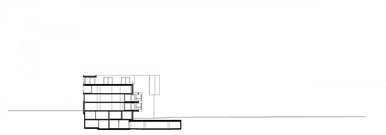 Haus C – Schnitt