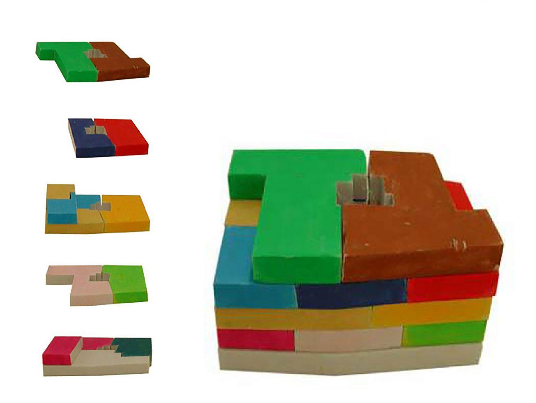 Anordnung Wohnungen im Volumen
