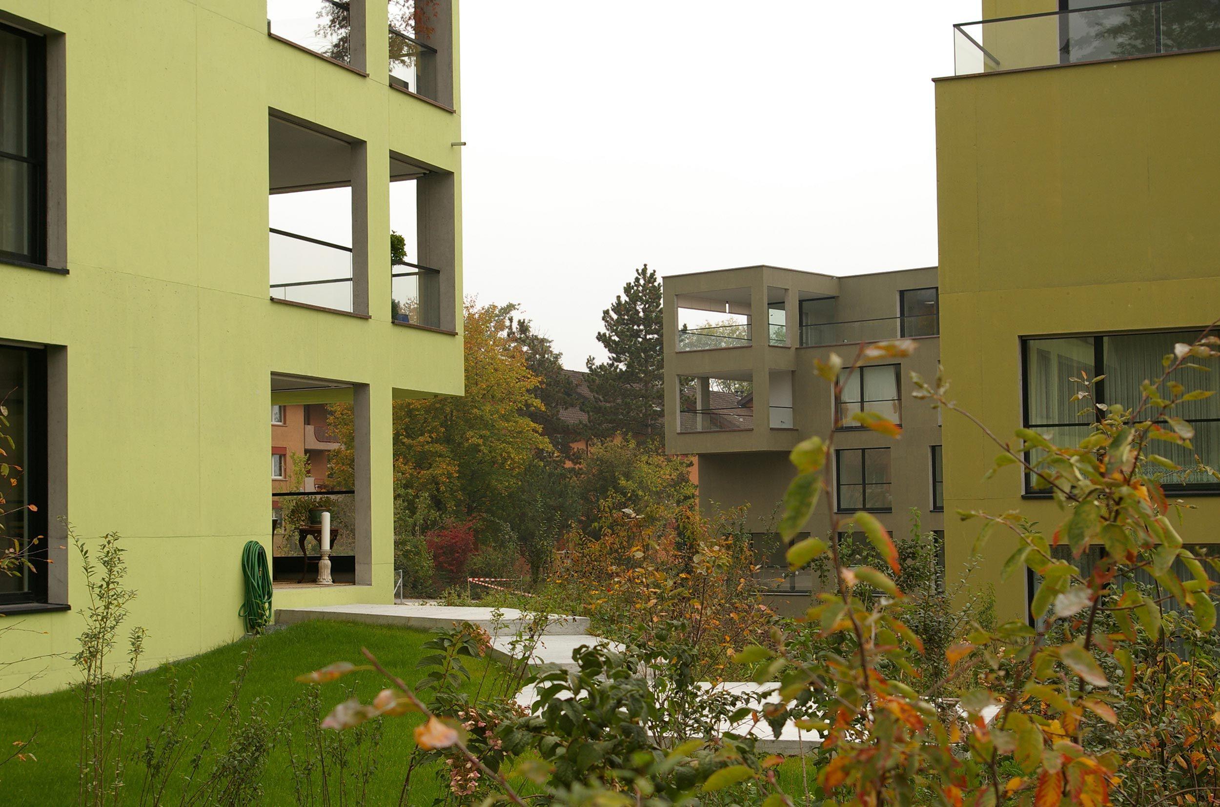 Housing Complex Park Grünenberg