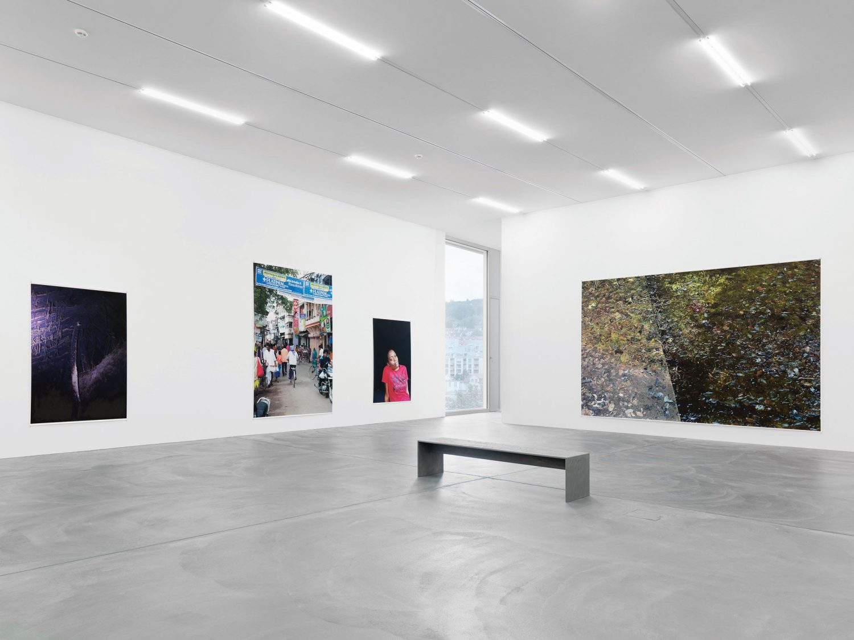 Intallation view Wolfgang Tillmans «Neue Welt» 2012