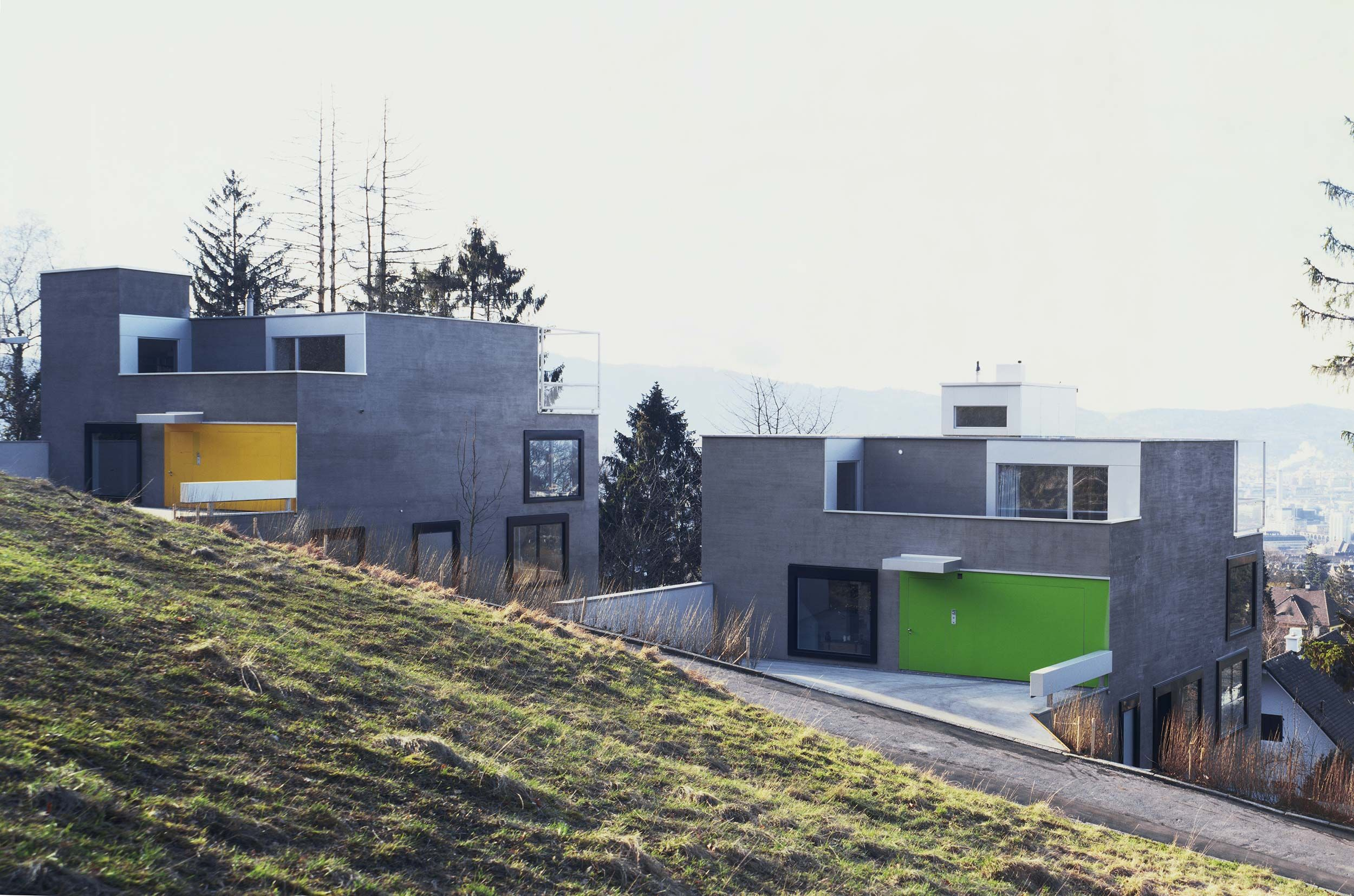 Two Houses in Zurich