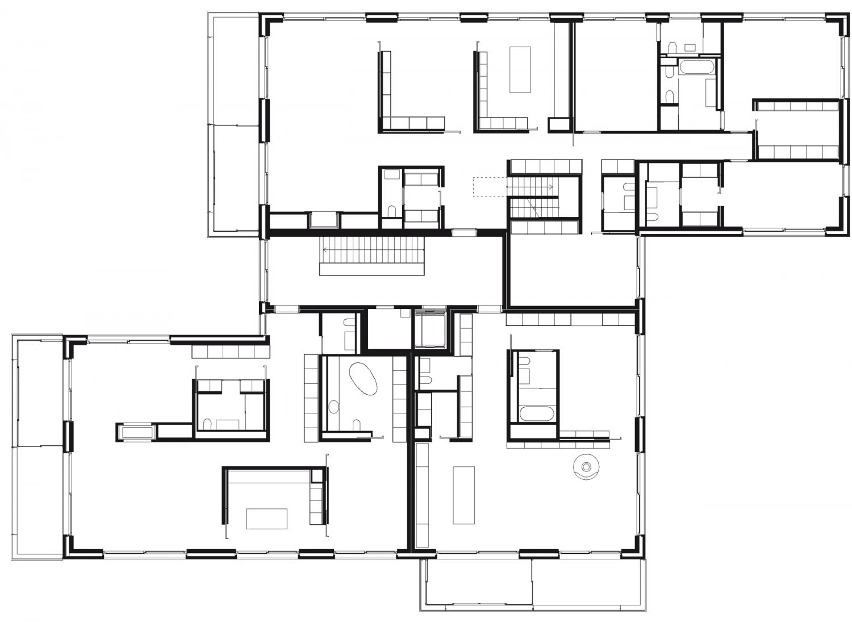 House 2 – 2nd floor