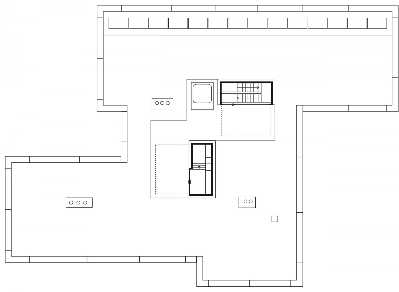 House 2 – Top floor