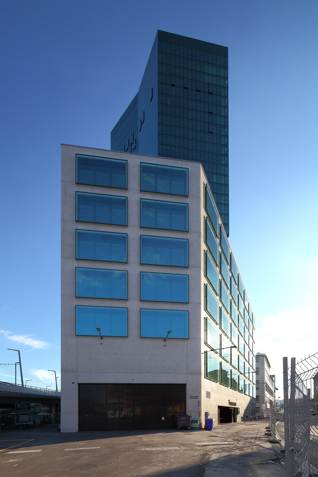 Cubus Office Building, Maag-Areal