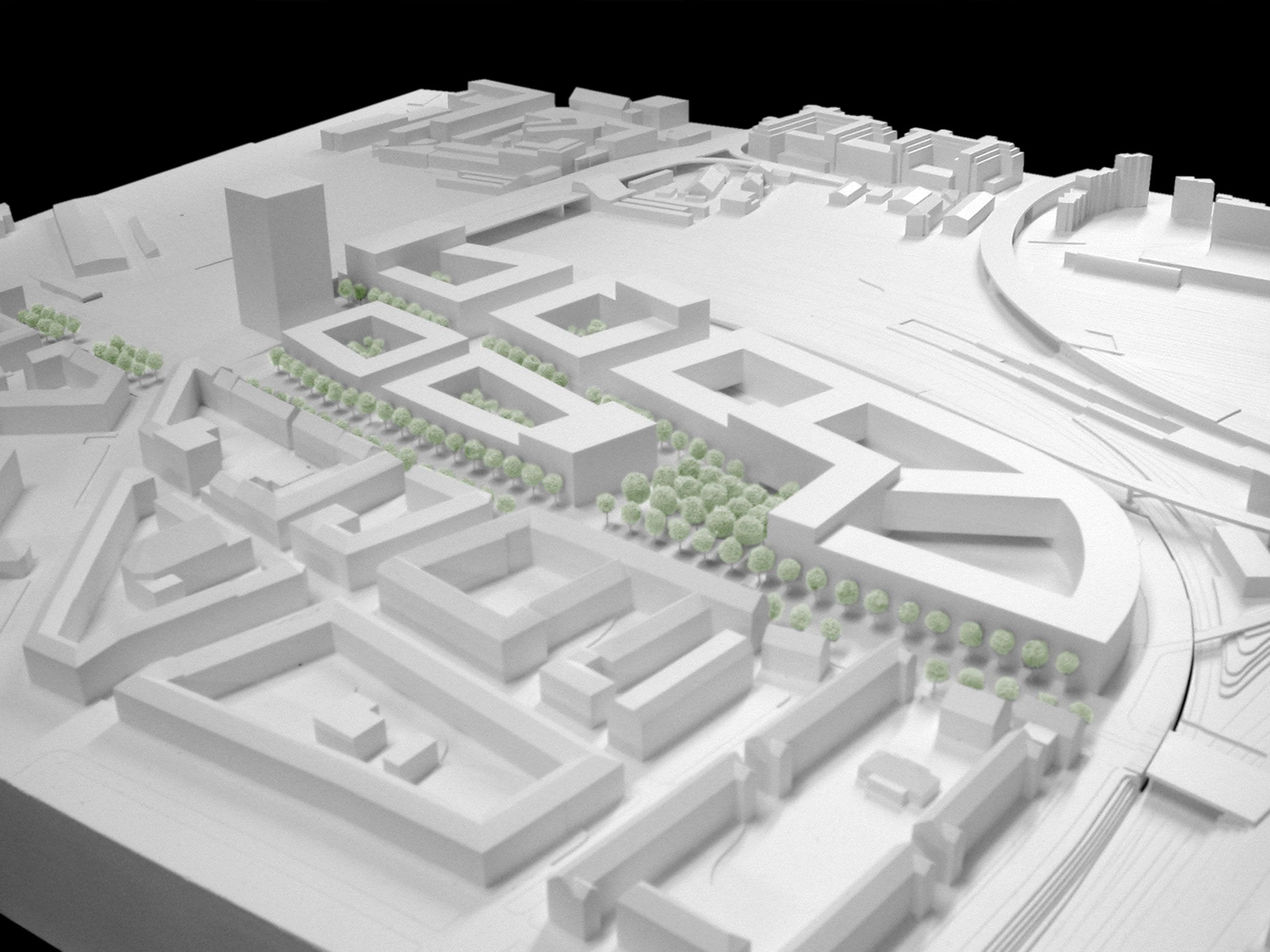 Urban Planning Police and Justice Center Site