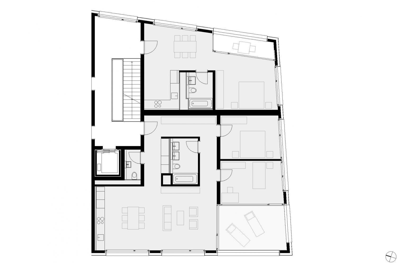Haus 2 – 1,5- / 3,5-Zimmer