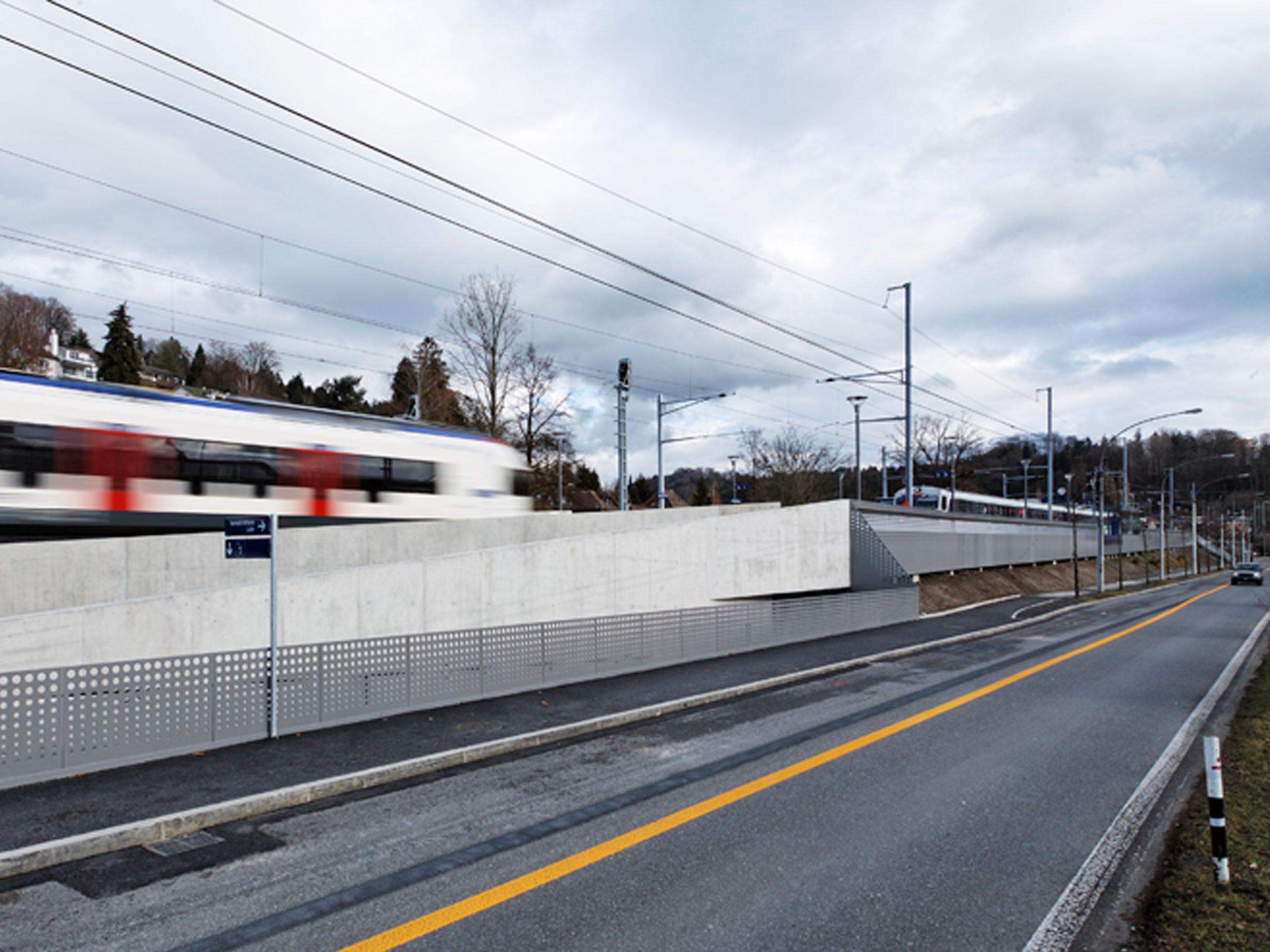 Bahnstation Luzern Verkehrshaus