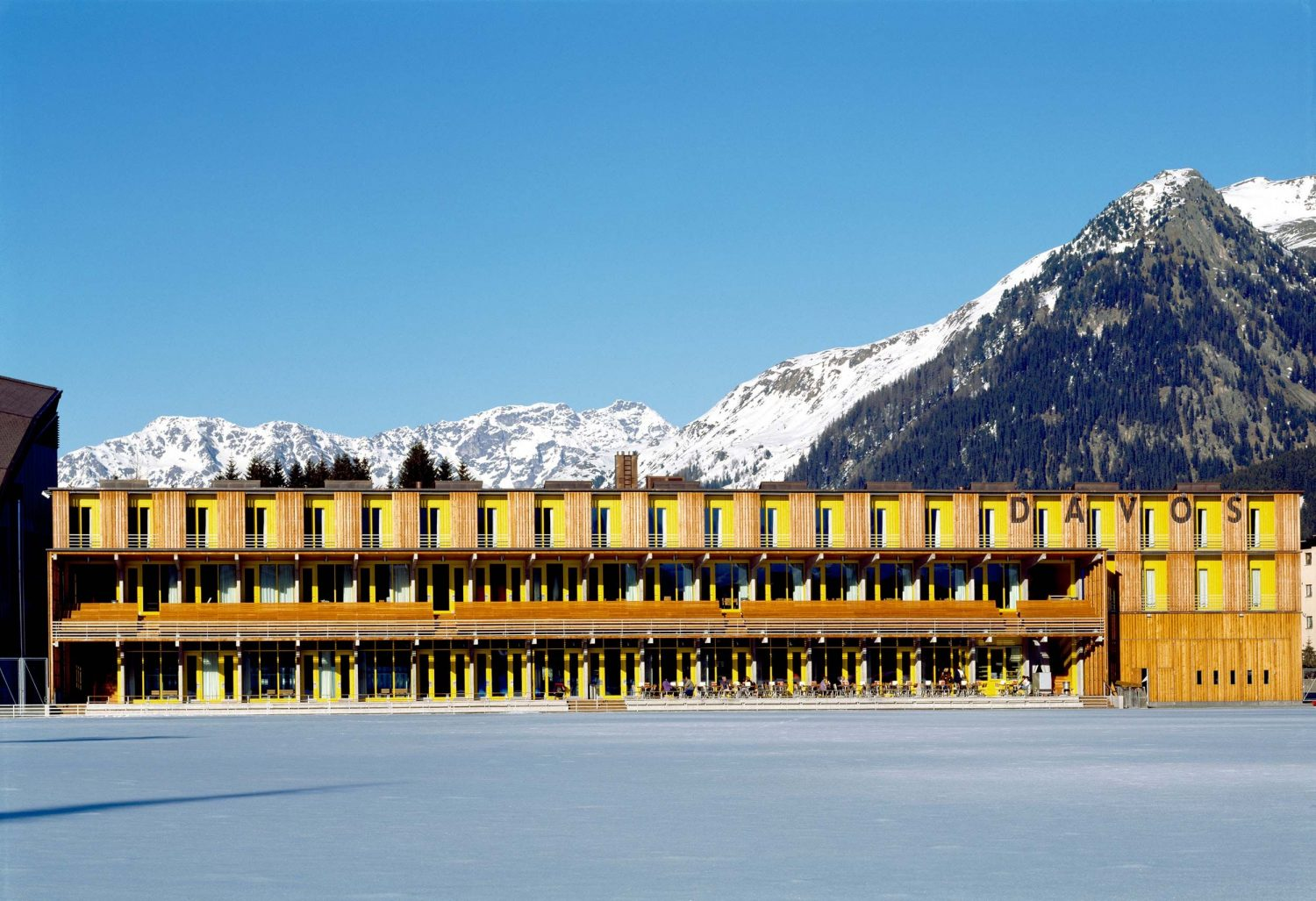 Davos Sports Center<br />Converted into: Davos Tourism and Sports Center post image