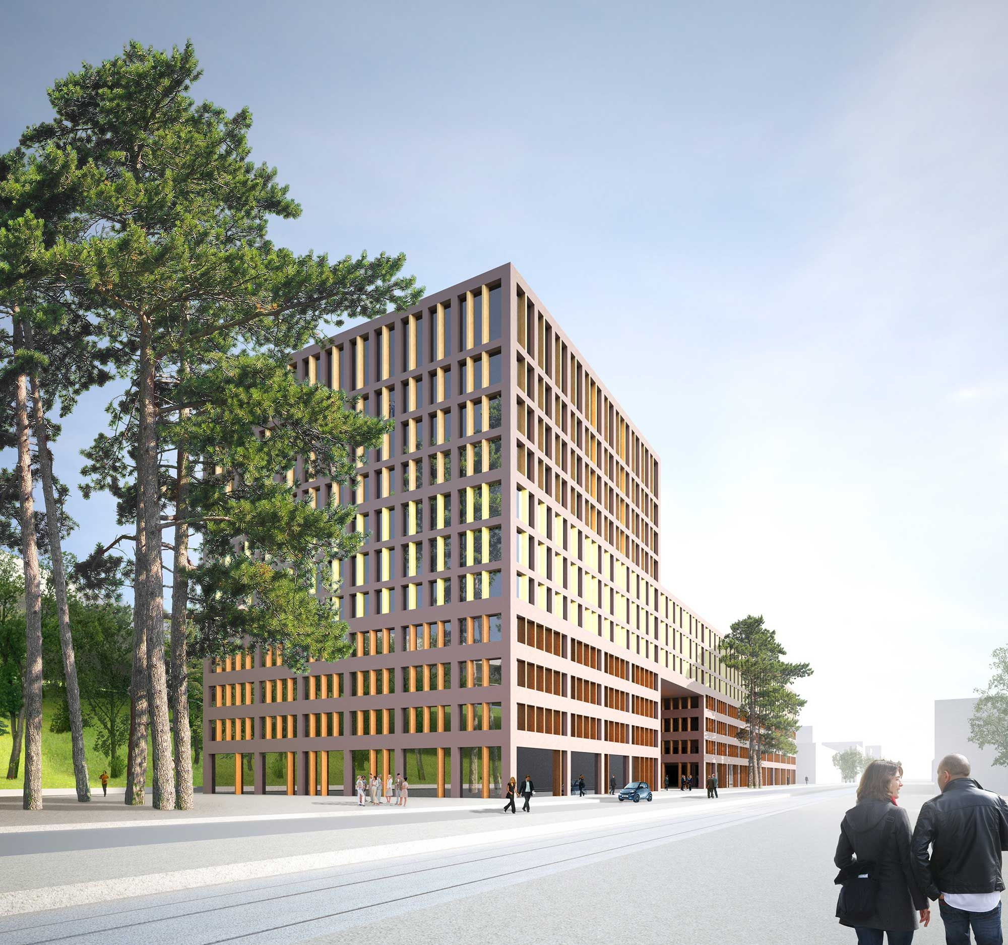 Hotel and Office Building – Greencity