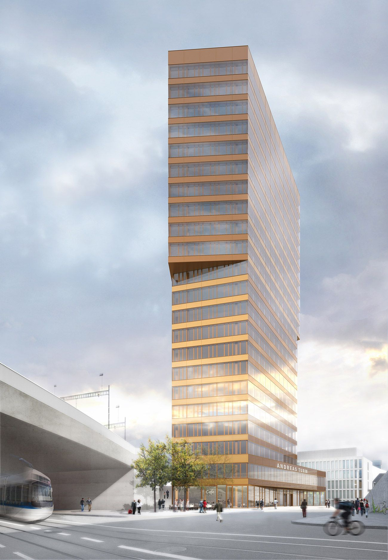 Office High-rise Andreasturm