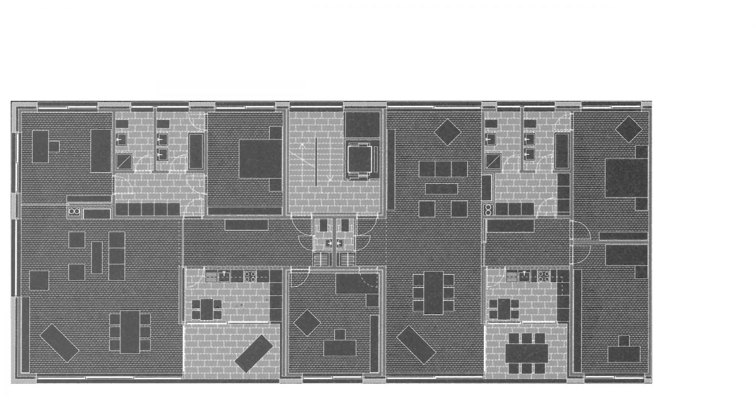 Ground floors 4.5 and 3.5 room apartments