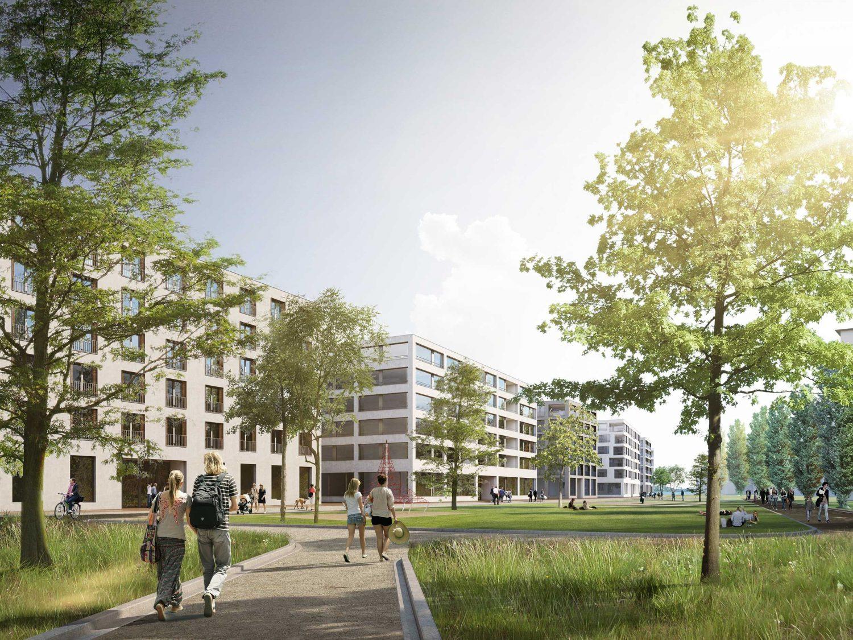 Stadthäuser zum Rösslimatt-Park