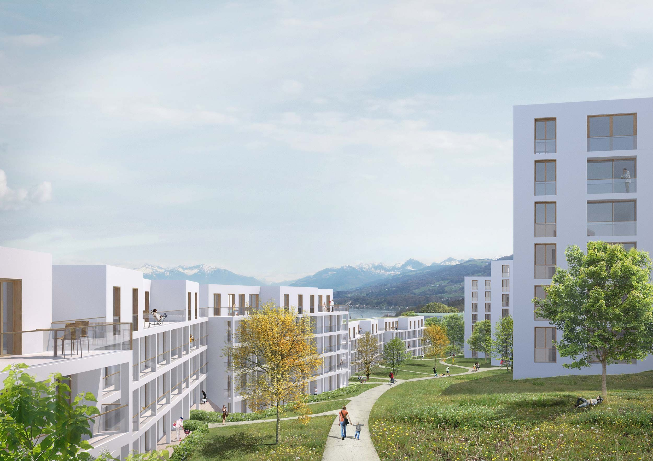 Replacement of Hangenmoos Housing Estate
