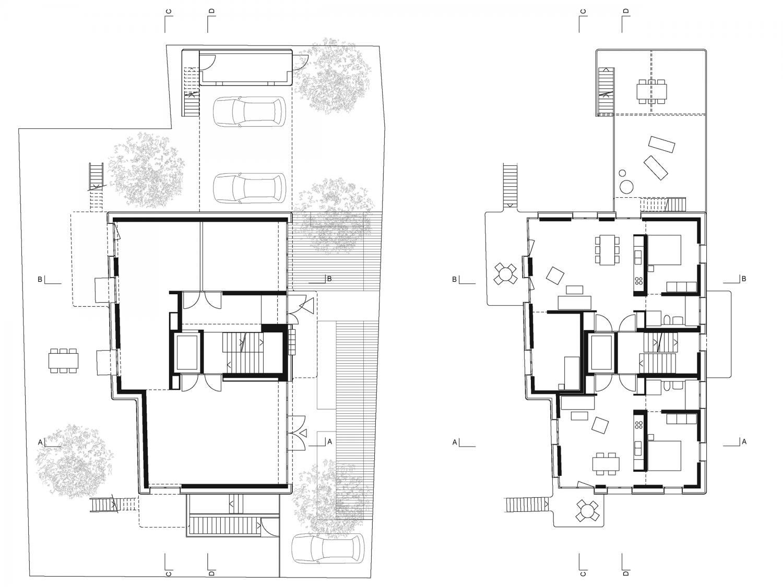 Ground floor / 1st floor