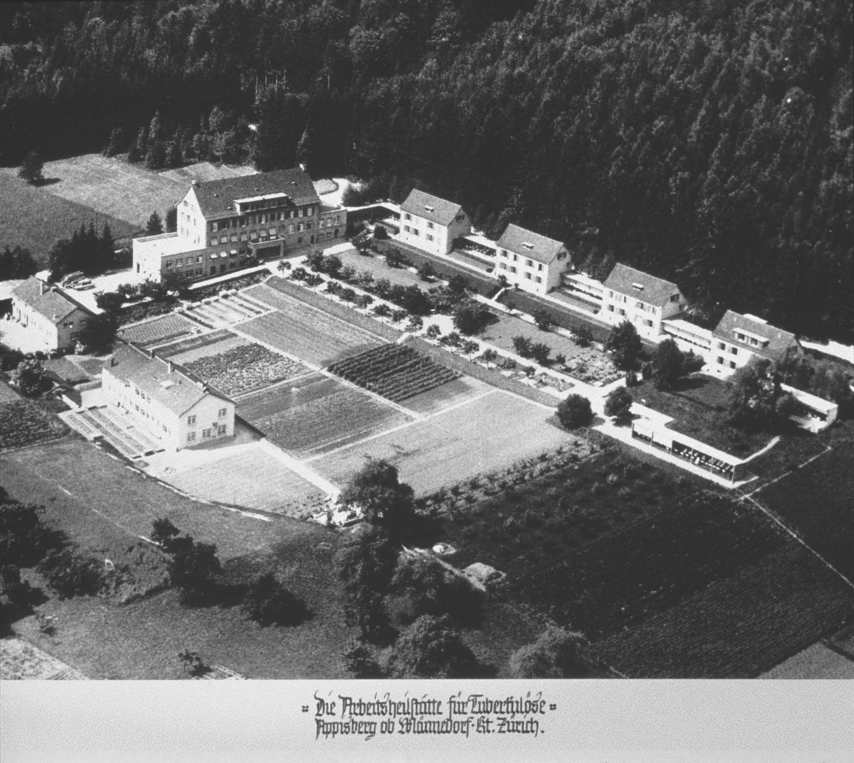 Aerial view, c. 1930