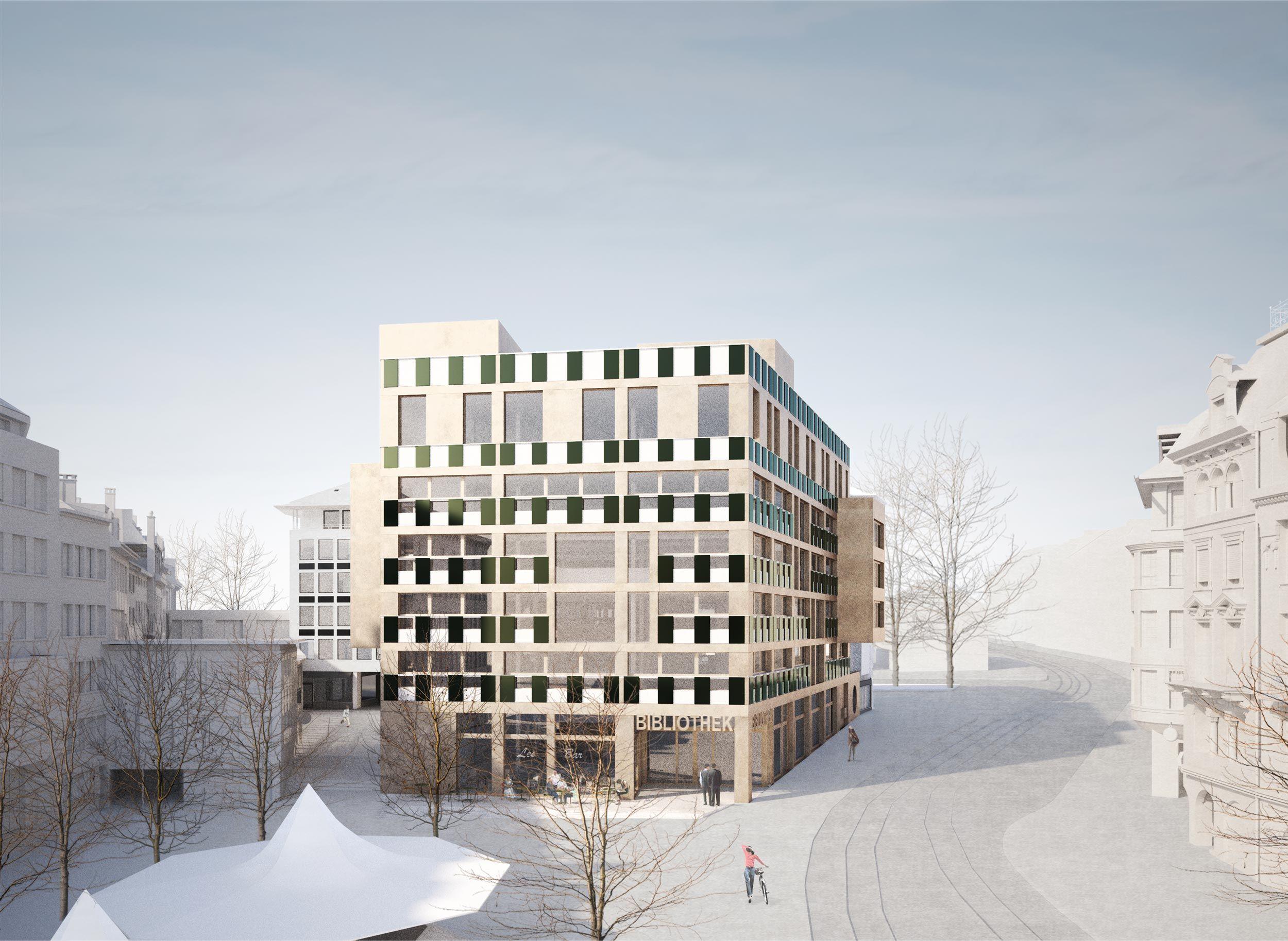 Neue Bibliothek St.Gallen
