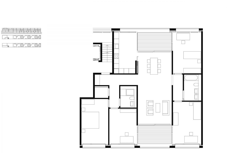 5.5 room apartment – 3rd floor