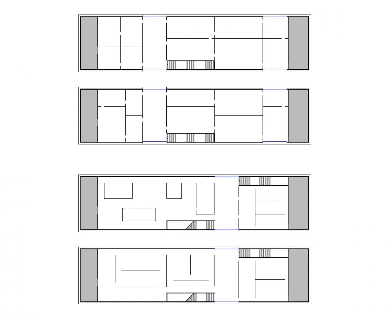 Room subdivision schemes