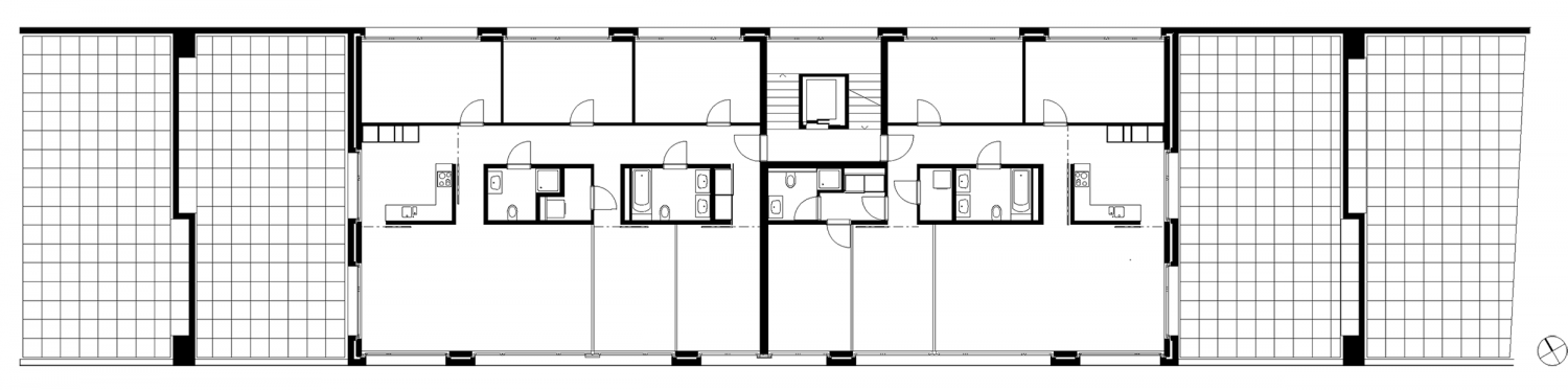 6.5- / 5.5-rooms with terraces, level 5 / 1st floor Carmenstrasse