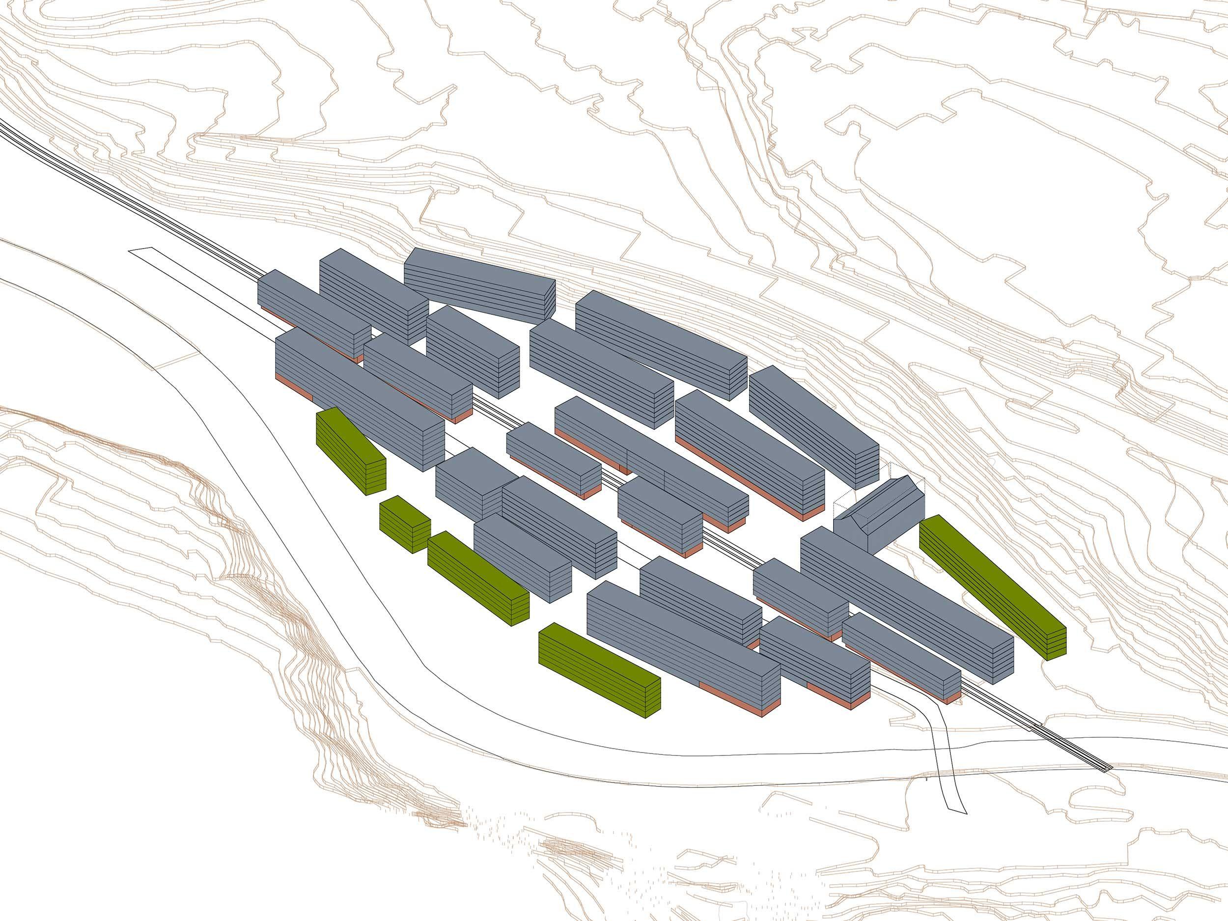 Städtebauliche Entwicklungstudie Manegg