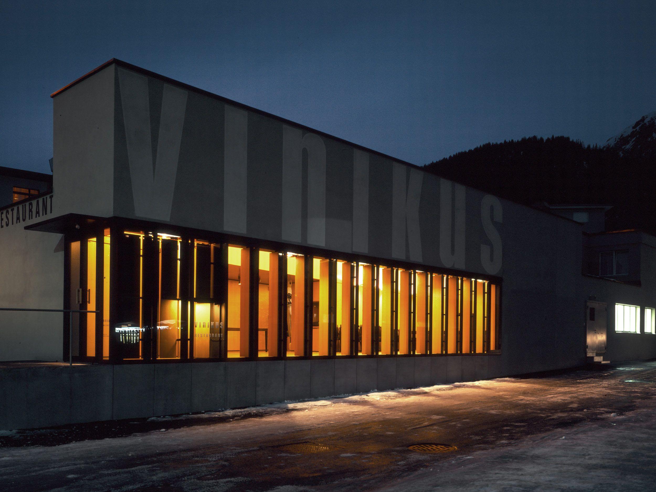 Restaurant Vinikus, Um- und Neubau